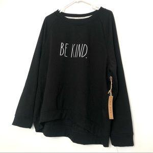 NWT Rae Dunn 'Be Kind' Sweatshirt sz 3x